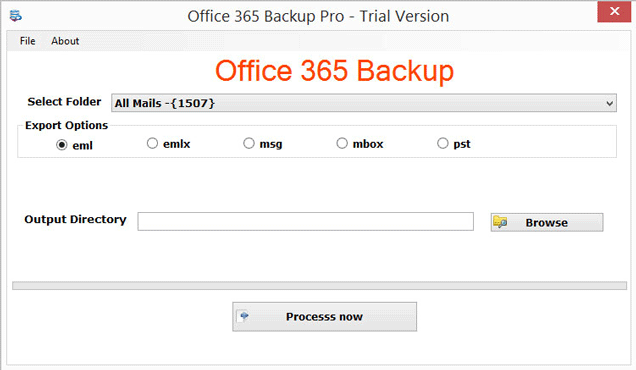 Restore Office 365 Backup files